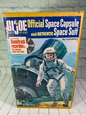 VINTAGE GI JOE ACTION PILOT SPACE CAPSULE WITH A 1964 Figure AND BOX 1966