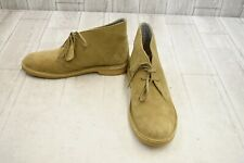 Clarks Desert Boot Lace-up Boots - Women's Size 11 - Oakwood Suede