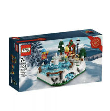 New Listing40416 Limited Edition 2020 Lego Ice Skating Rink Brand New