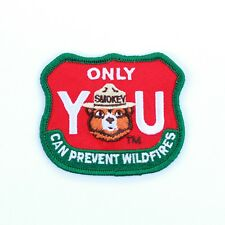 Official Smokey Bear Souvenir Patch Only You US Forest Service Smoky