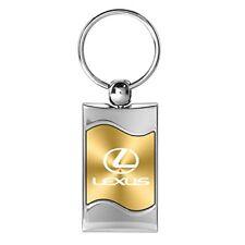 Lexus Gold Wave Matel Key Chain