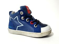 New $90 BUNNIES JR Shoes High Top Kids Boys Toddler LEATHER Size 7 USA/23 EURO