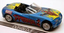 Maisto 1997 Dodge Copperheard Concep Car Blue Spiderman 1/64 Scale Diecast