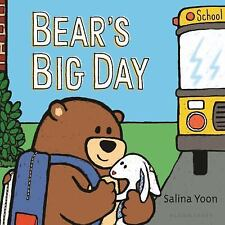 Bear's Big Day by Salina Yoon (2017, Board Book)