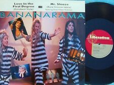 Bananarama ORIG OZ PS 12 Love in the first degree EX London '87 Newwave