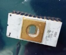 TMS 2708 JL Ceramic white Gold Plated  Gold EPROM Date Codes 7709