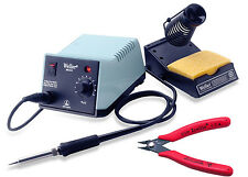 "Weller WES51 Analog Soldering Station, with Xcelite 170M 5"" Flush Cutter"