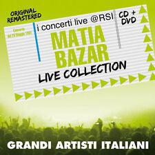 """MATIA BAZAR  """"LIVE COLLECTION@RSI""""  (CD+DVD)"""