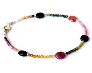 awesome natural tourmaline bracelet pretty