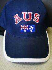 Adult Mens Womens Australia Day Australian Flag Souvenir Polyes Baseball Cap Hat