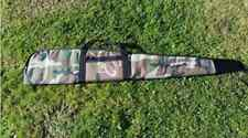 Padded Camo Camouflage Full Zip Gun Bag Rifle Slip Air Rifle Case Carrier Bag