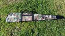 Gepolstert Tarnfarbe Reißverschluss Waffe Tasche Rifle Rutsch Air Gewehr-fall
