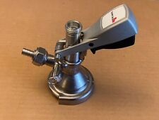 Micro Matic A System Keg Coupler German Slider New with gas tailpiece
