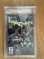 Batman #1 New 52 9.6 CBCS Dual Signed Snyder & Capullo