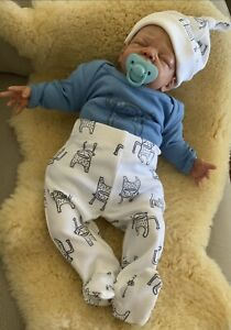 REBORN BABY BOY Ethan*Bailee Sculpt By Sherry Bowden*Newborn Baby New Condition