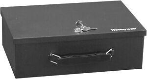 Fireproof Security Box Fire Safe Chest Key Lock Cash Storage Case Money Document