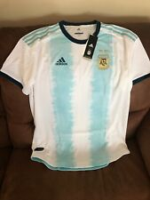 Adidas Climachill Authentic Argentina Team 2019 Soccer Jersey NWT Size L Mens