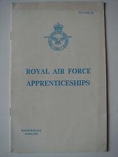 Set of 6 RAF Induction Booklets 1966 - 1968