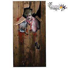 Halloween Horror Zombie Giant 6 Foot Door Cover Poster Decoration Prop Plastic
