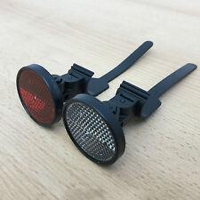 Fahrrad Reflektoren Set AXA Frontstrahler-Rückstrahler mit Universal-Befestigung