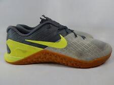 sale retailer 05aa5 64f76 Nike Metcon 3 tamaño 13 m (D) EU 47.5 para hombres zapatos de entrenamiento  Cruzado Gris 852928-004