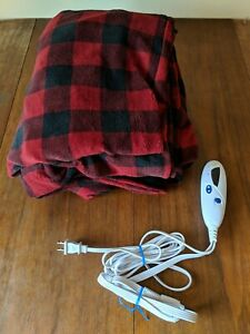 Biddeford Electric Throw, Ultra Soft Micro Plush and EXTRA LONG 50X72