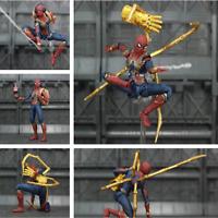 "Marvel Avengers Iron Spider Man 6"" Movie Action Figure Tom Holland Legends KO's"