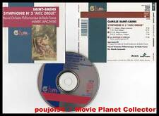 "SAINT-SAENS ""Symphonie 3 orgue"" (CD) Janowski 1993"