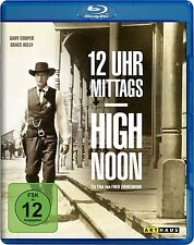 12 UHR MITTAGS, High Noon (Gary Cooper, Grace Kelly) Blu-ray Disc NEU+OVP