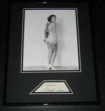 Raquel Torres Signed Framed 11x14 Photo Display