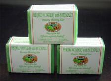 ** SALE 20% **  3  PATCHOULI Hair Loss Hair Growth Herbal Soap Organic