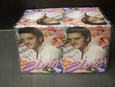ELVIS LOVE ME TENDER WITH MUSIC NOTES IMAGE 1 VINYL CHECKBOOK COVER