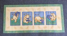 COURISTAN WINNIE THE POOH WOOL HAND HOOKED AREA RUG 30X65 RUNNER NIB