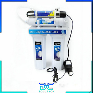 Depuratore purificatore acqua potabile casa rubinetto lampada UV Philips prezzi