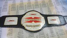 New TNA X Division Wrestling Championship Belt, Adult Size Metal Plates