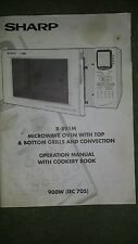 Sharp R-891M Operation Manual