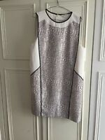 Whistles 14, Dress, White Ans Black Animal Pattern, Holidays, Party, Fab!