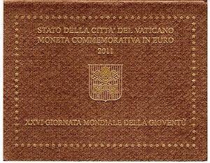 COFFRET BU VATICAN 2011   2 EURO