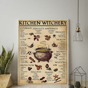 Witchery Posters and Prints Decoration Canvas Wall Pictures Wallpapers Decals