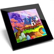 1 X Colourful Magic Realm Fairy Fun Glass Coaster - Kitchen Student Gift #16884