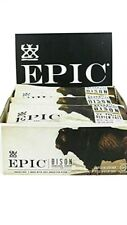 EPIC Bison uncured Bacon Cranberry Bar, Grass-Fed, 12Ct Box 1.3oz bars. 12/25/20