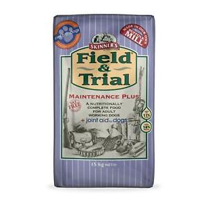 Skinner's Field & Trial Maintenance Plus Complete Dry Dog Food Joint Aid 15kg
