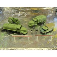 ** Wiking 9905552 Set of Four Historical Municipal Vehicles 1:87 HO Scale