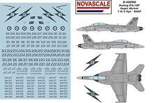 RAAF F/A-18F Super Hornet Decals 1/48 Scale N48090A