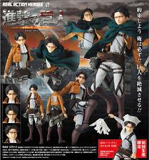 Medicom Attack On Titan Kyojin Real Action Heroes RAH 662 Levi Figure Limited