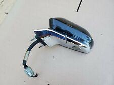 2013-14 Lincoln MKZ Side View Mirror w/ BLIS Heated Mem Signal Driver LH BLACK