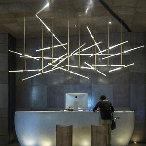 Modern Industrial Style LED Pendant Hanging Chandelier Bar Office Lamp Light