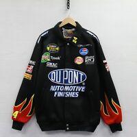 2004 Jeff Gordon #24 Jeff Hamilton Chase Racing Jacket 2XL NASCAR Dupont Flames