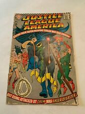 1967Justice Leaque Of America Number 53 DC Comic Book
