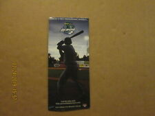 Vermont Lake Monsters Vintage Circa 2006 Baseball Season Ticket Brochure
